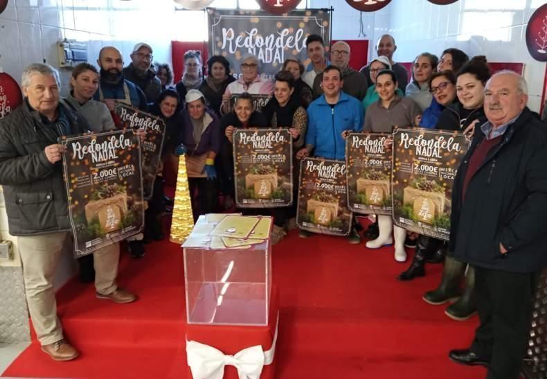 Presentación de la Campaña de Navidad en la Plaza de Abastos de Redondela