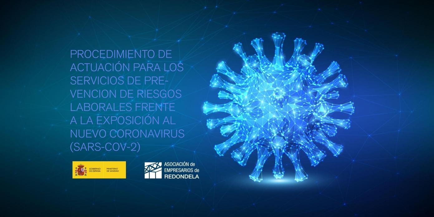 Procedemento de actuación para os servizos de Prevención de Riscos Laborais fronte á exposición ao novo coronavirus (SARS-COV-2)