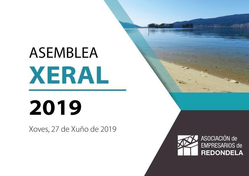 ASAMBLEA XERAL ORDINARIA 2019