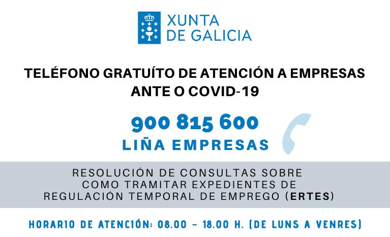 MEDIDAS ECONÓMICAS: A  Xunta de Galicia está a poñer en marcha novas iniciativas para  apoiar ao tecido empresarial galego.